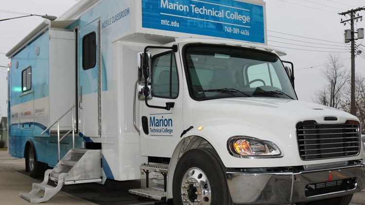 Marion Technical College mobile lab