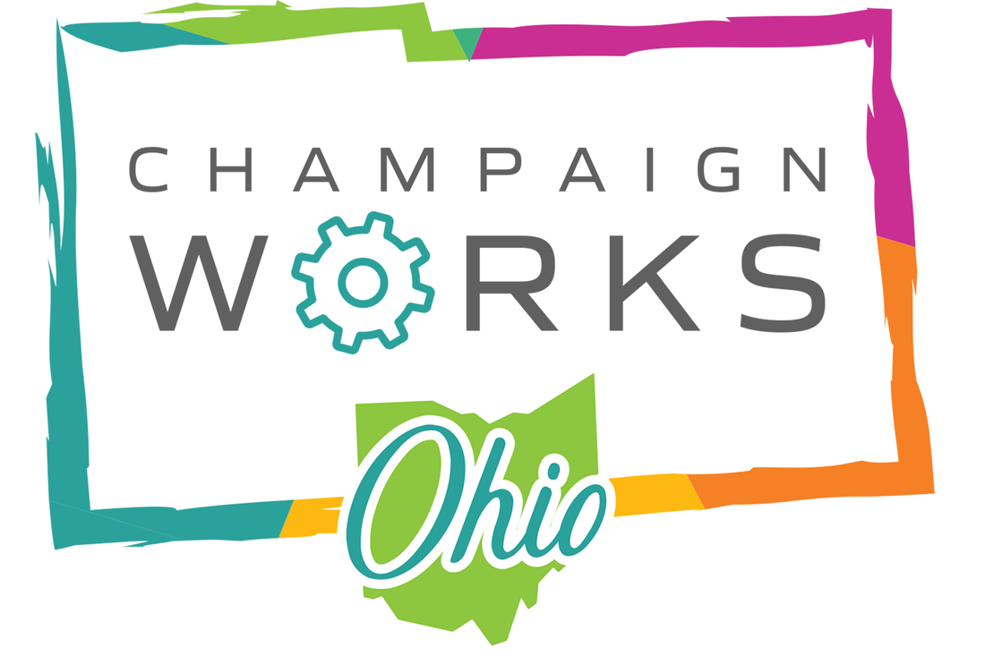 Champaign County Works Jobs logo